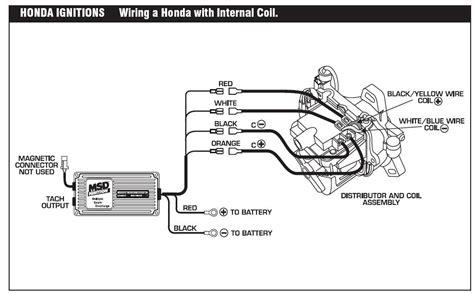msd 6al wiring diagram honda civic image collections