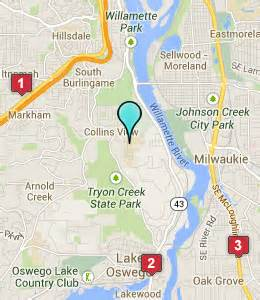 map of colleges in oregon hotels near lewis and clark college portland or