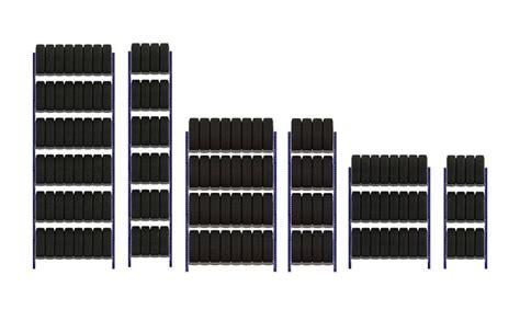 scaffali porta gomme scaffali per gomme scaffalature per pneumatici stoccaggio