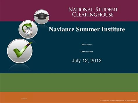 national student clearing house nsi 2012 national student clearinghouse