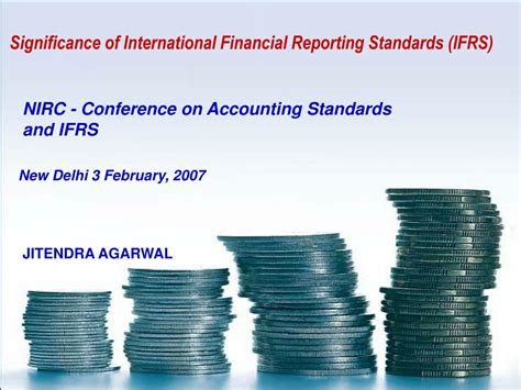 International Financial Reporting Standards ppt significance of international financial reporting standards ifrs powerpoint presentation