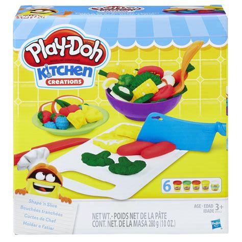 Play Doh Kitchen by Play Doh Kitchen Creations Shape N Slice Play Doh