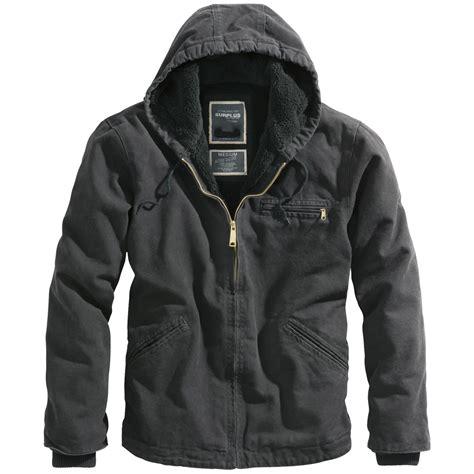 Hooded Cotton Jacket surplus stonesbury warm mens cotton jacket hooded vintage