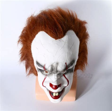 It Pennywise Clown Mask Costume fantasia completa de pennywise o palha 231 o dan 231 arino em it