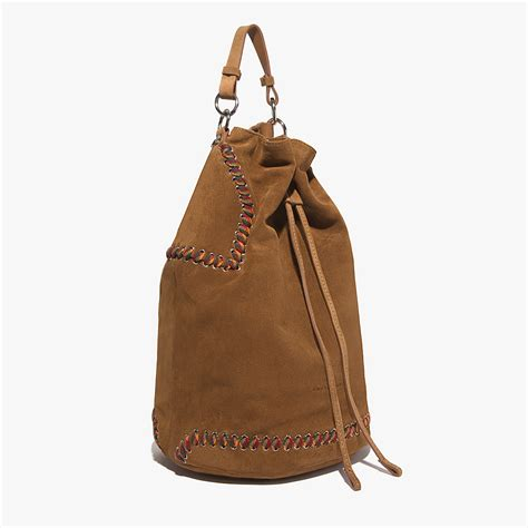 flavienne bag in suede cuir coccinelle