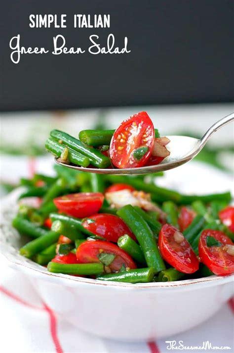 simple italian green bean salad  giveaway