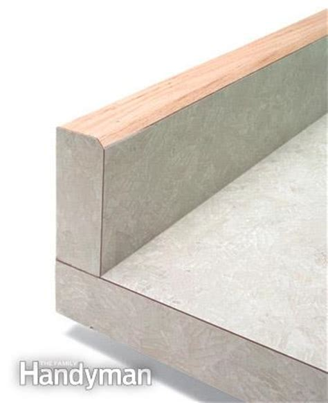 Post Formed Countertop by How To Select Laminate Countertops The Family Handyman