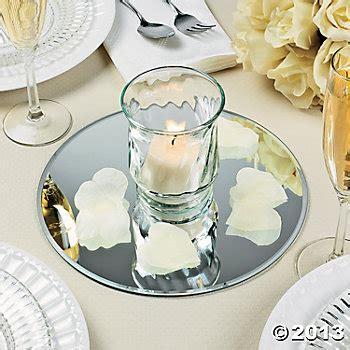 Mirror Table Decor by Wedding Decorations Canada Decoration