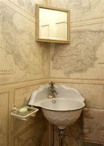 Corner Powder Room Sink Powder Rooms Maps And Corner Sink On Pinterest
