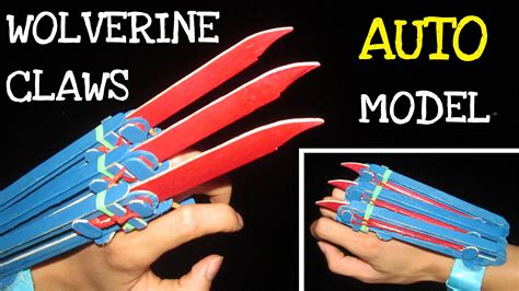 How To Make A Wolverine Claws Out Of Paper - how to make origami wolverine claws image collections