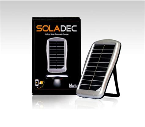 Lu Emergency Ms 1000 Solar Charger Batery soladec all in one portable solar power charger and external battery gets your powered