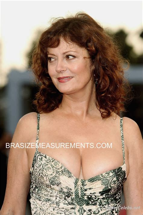 body measurements celebrity measurements bra size susan sarandon bra size and body measurements celebrity