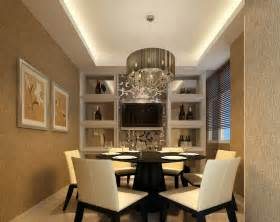 Modern Minimalist Dining Room by Modern Minimalist Dining Room Design With Wine Display