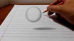 How To Make 3d Drawings On Paper - how to draw a levitating easy 3d trick