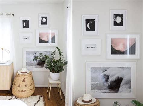 bedroom gallery wall create an eye catching gallery wall