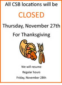 are banks closed on thanksgiving gallery for gt we will be closed for thanksgiving