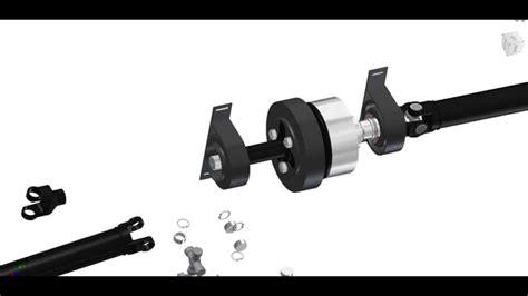 land rover freelander propshaft freelander viscous coupling propshaft bearings