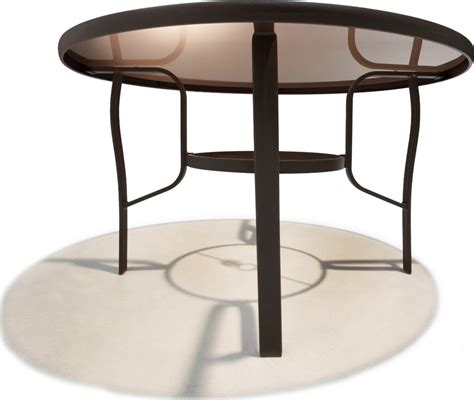 48 inch patio table strathwood rawley 48 inch dining table patio table