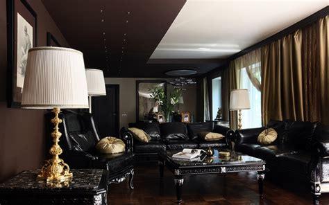 Incroyable Amenager Un Salon Rectangulaire #7: d%C3%A9coration-salon-moderne-table-basse-rideaux.jpg