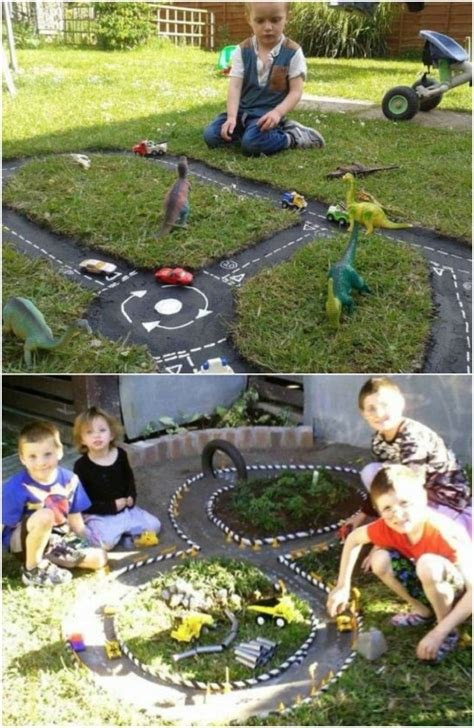 joyful diy outdoor play areas  kids  love
