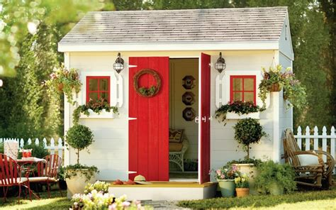 sheds  latest trend  exterior spaces