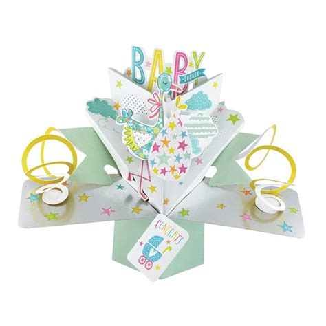 Pop Up Baby Shower Card   Find Me A Gift