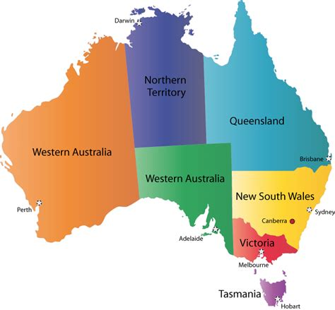 map of countries in australia australia political map pictures map of australia region