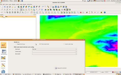 tutorial basico qgis quantum gis raster file full version free software