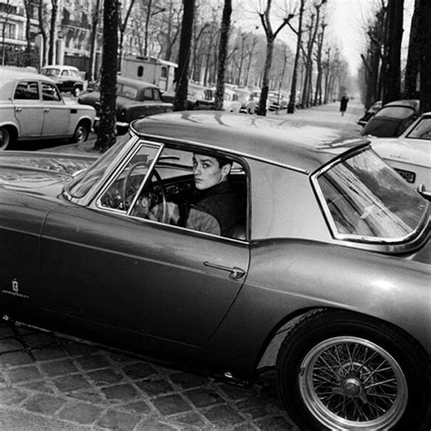 gerard blain tombe alaindelon and his ferrari 250 gt spider california 1965