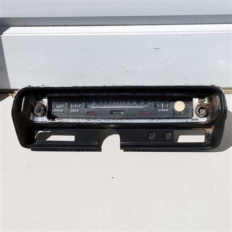 72 charger parts dodge charger monaco instrument cluster 72 73 74 75 76