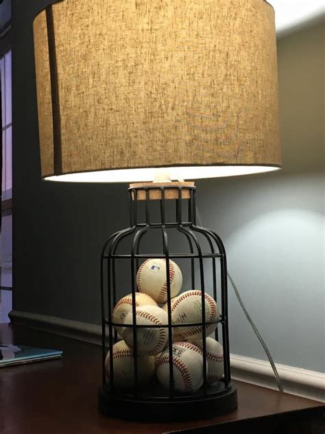 cute baseball lamp baseball baseball bedroom decor