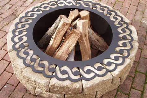 fire pit ring insert brilliant idea for your home