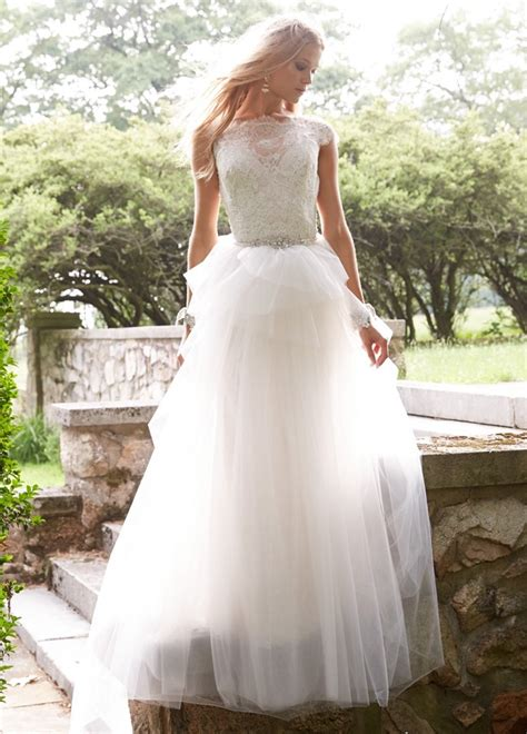Alvina Dress 4 alvina valenta wedding dresses 2015 fall modwedding