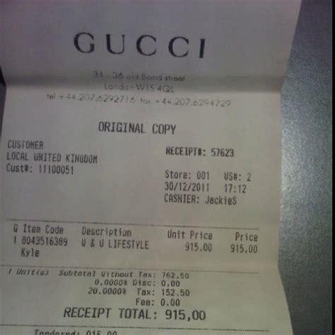 gucci receipt template expressexpense custom receipt maker receipt