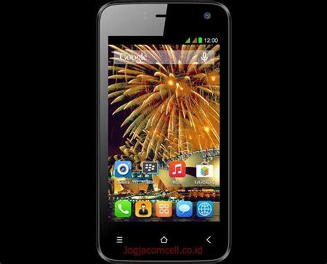 Handphone Hp Strawberry Rubicon Ram 512mb 4gb evercoss r40g jump t2 intel ponsel android kitkat jaringan 3g