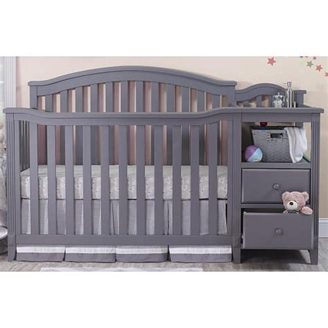 sorelle berkley changing table sorelle berkley crib and changer gray sorelle babies