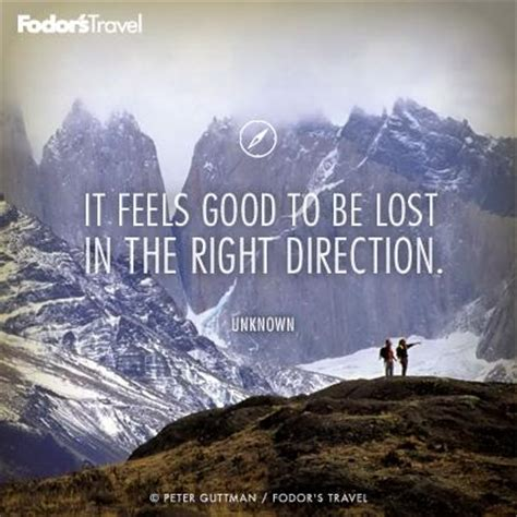 travel quote of the week on getting lost fodors travel