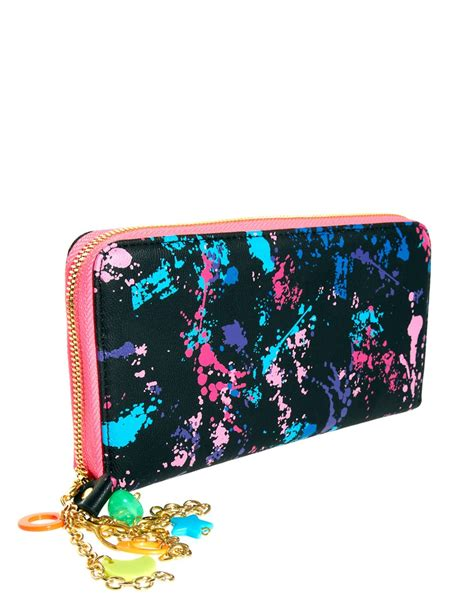 Pauls Boutique Printed Clutch At Asos by Pauls Boutique Paul S Boutique Lizzie Printed Wallet At Asos