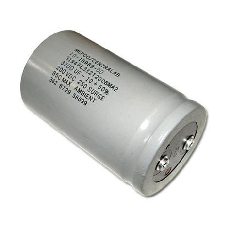large capacitor mepco 3300uf 200v aluminum electrolytic large can capacitors 3194fe332t200bma2 ebay