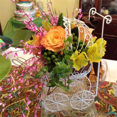 baby shower flower arrangements baby carriage flower arrangement for baby shower baby