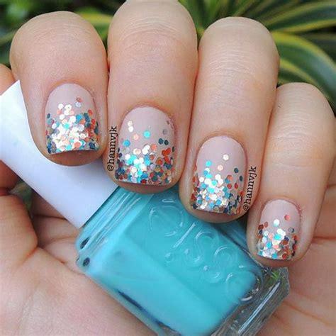 tips design 70 stunning glitter nail designs 2017
