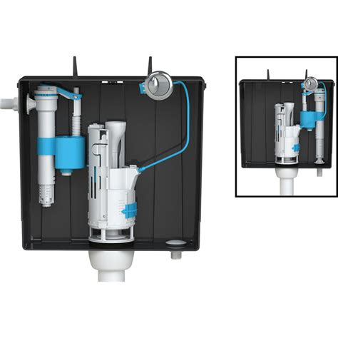 Cistern Plumbing by Viva Skylo Compact Universal Concealed Cistern Bottom Or Side Entry Toolstation