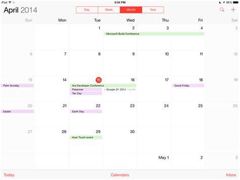 Calendar Ios Ios 7 Calendar Calendar Template 2016