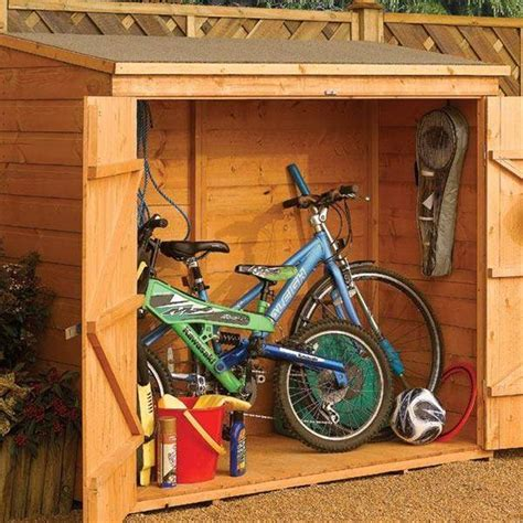 6 x 3 tongue and groove wallstore bike shed 1825mm x