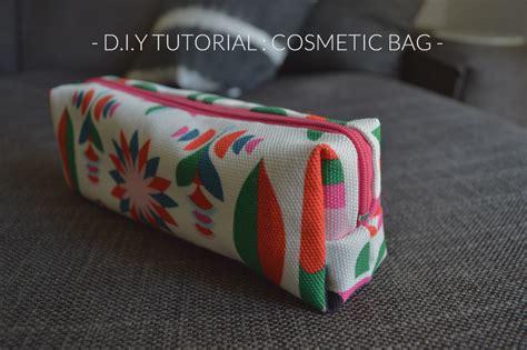 tutorial makeup bag d i y tutorial make your own cosmetic bag hannah in