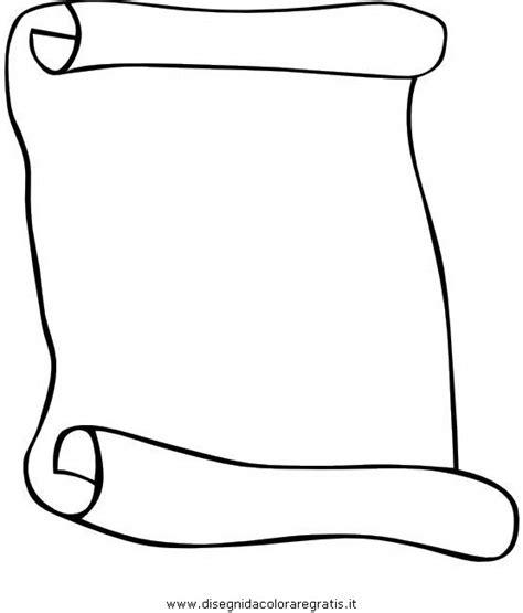 clipart da colorare immagini pergamena da stare clipart best