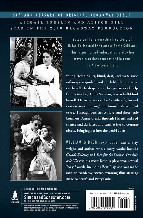 The Miracle Summary The Miracle Worker Book By William Gibson Official Publisher Page Simon Schuster