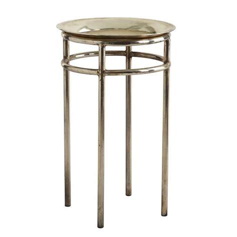 threshold silver storage drum accent table target threshold metal accent table silver i target