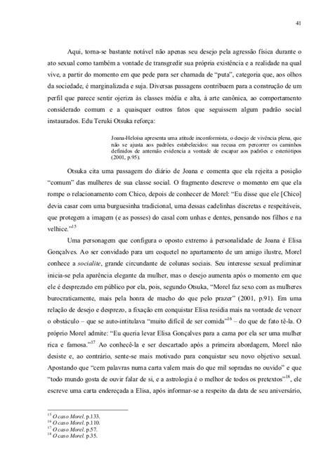 O paradoxo feminino em o caso morel, de rubem fonseca