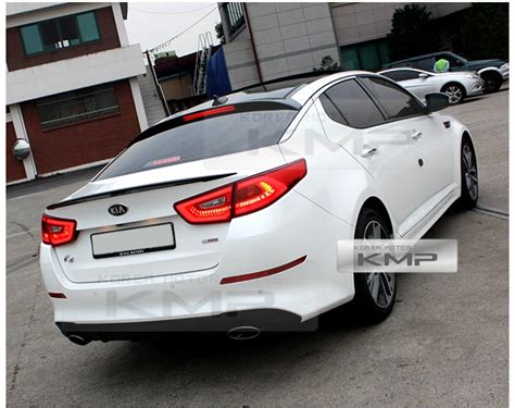 2014 Kia Optima Aftermarket Parts Rear Trunk Wing Lip Spoiler Aero Parts Painted For Kia